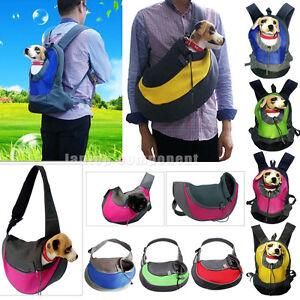 S/L Pet Dog Cat Puppy Carrier Comfort Travel Tote Shoulder Bag Sling Backpack LA