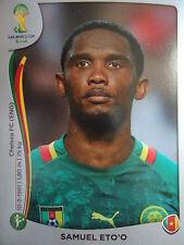 Panini 107 Samuel Eto'o Kamerun FIFA WM 2014 Brasilien