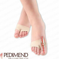 Forefoot Support Fabric Ball of Foot Gel Pads Cushions by PEDIMEND™ - Foot Care
