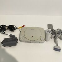 Sony Playstation PS One PS1 Slim Console Bundle W/ Controller/memory card/cables