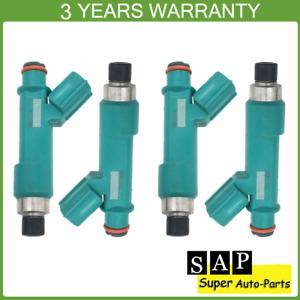 4pcs Fuel Injectors 23250-28080 23209-28080 For Toyota Scion Camry RAV4 Corolla