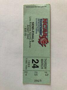 1994 NCAA Western Regional Semi-Finals Final  Ticket Stub -
