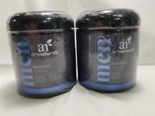 Art Naturals Mens Shaving Cream 8oz.Natural, Hydrating & Soothing New Sealed x 2