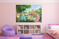 Princesse Princess  Castle Chateau Disney Poster Grand format A0 Large Print