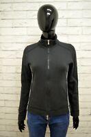 Felpa CHAMPION Donna Taglia S Sweatshirt Maglione Pullover  Cardigan Elastico