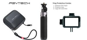 PGYTECH DJI OSMO Action Sport Camera Vlog Protective Tripod Case Extension Cage