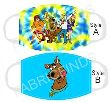Scooby Doo Cartoon Kids & Adult Cloth Protection Face Mask Cover Choose Style