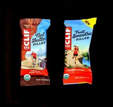 80 CLIF ENERGY BAR 40 STRAWBERRY BANANA & 40  CHOCOLATE PEANUT BUTTER  FRUIT NUT
