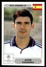 Panini Champions League 2000/2001 - Aitor Karanka Real Madrid CF No. 4