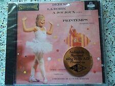 CSCD 6079 DEBUSSY - LA BOITE A JOUJOUX (CLASSIC RECORD-GOLD-CD/FACTORY SEALED)