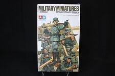 XD045 TAMIYA 1/35 maquette figurine 35031 German artillery troops