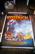 HYSTERICAL 4x6 ft Bus Shelter French Vintage Movie Poster Original 1983