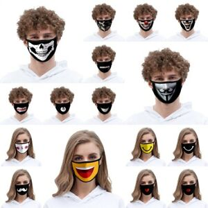 Behelfs Mundschutz Maske Mundbedeckung Behelfsmaske Staubmaske wiederverwendbar
