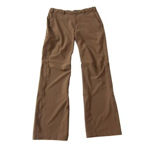 REI Womens Pants Roll Up Hiking Outdoors Size 8 Green
