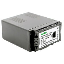 1x Kastar Battery for Panasonic VW-VBG6 HDC-SD1 HDC-SD3 HDC-SD5 HDC-SD7 HDC-SD9