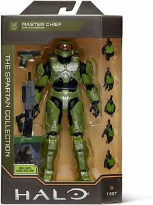 "Halo Infinite THE SPARTAN COLLECTION MASTER CHIEF 7"" figure Includes Game Add-On"