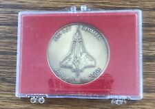 Collectable 2003 Shuttle Crew Emblem Coin Columbia Sts-107 Bronze Coin