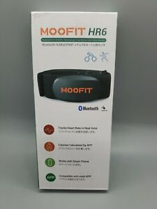 Moofit Heart Rate Monitor HR6 with Chest Strap Bluetooth smart phone compatible