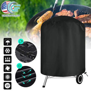 BBQ Gas Grill Cover Round Patio Fire Pit Barbecue Waterproof Outdoor Protection