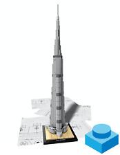 LEGO Architecture 21031  •  Burj Khalifa  •  TOP, ohne Anleitung und OVP