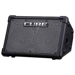 Roland Cube Street EX Battery Powered Stereo Amplifier with Carrying Bag