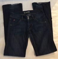 Hudson Size 27 Womens Jeans Signature Bootcut Flap Pockets Boot Leg Medium Wash
