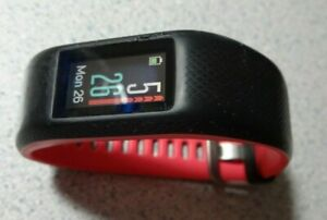 Garmin VIVOSPORT Fuchsia S/M Fitness Tracker w/ GPS & HRM - Used