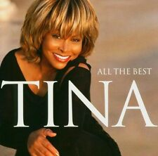 TINA TURNER - ALL THE BEST 2 CD  33 TRACKS INTERNATIONAL POP COMPILATION NEUF