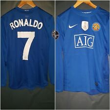 Ronaldo 7 Manchester United Champions League Shirt 2008/09 Player Issue NEW M
