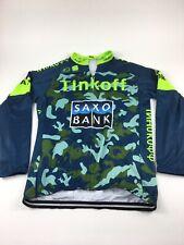 Sportful Tinkoff Saxo Bank Long Sleeve Thermal Jersey Size 3XL Cycling