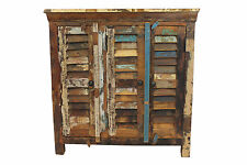 Reclaimed Sideboard Cupboard In Vintage Wood Storage Cabinet FREE DELIVERY