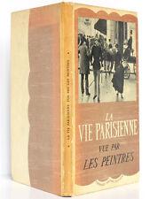 La vie parisienne vue par les peintres Georges POISSON Fernand Nathan 1953 ENVOI