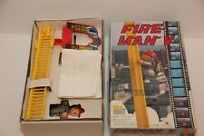 Vintage Fire Man V Fire Fighter Ladder Climbing 1984 Battery Operated No. 1