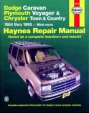 Dodge Caravan, Plymouth Voyger, and Chrysler Town & Country Repair Manual, 1984