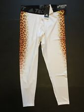 adidas Techfit Uncaged Cheetah-Print Men's Tights CD1064 Size XL