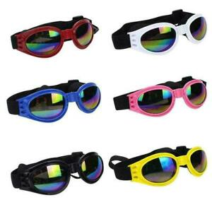 1* Protection Small Doggles Dog Sunglasses Pet Goggles Glasses UV Eye Wear  New