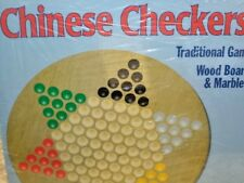 Round Wood Chinese Checkers - Awesome Games Board Game New