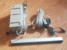 Nitendo Wii Cord Set (Ac Power Adapter,Av Cable,sensor bar)