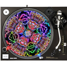 Portable Products Dj Turntable Slipmat 12 inch - Psy Trance