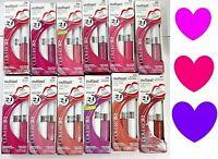 CoverGirl OUTLAST Lipstick Lip Color + Topcoat Gloss Full Sz PICK COLOR New SALE