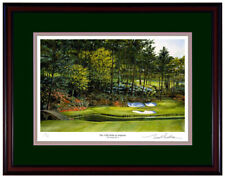 Augusta # 12 Signed & Number Limited Edition Litho