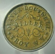 1863 Cwt-Oliver Boutwell Icg Au58 Details Corroded-Fuld#890B-4b,Ny #S258 (Auz)