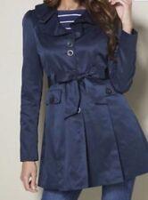 Lipsy London_Ladies Frill Front Mac Jacket_Navy Blue_Size 6 UK-SALE PRICE_B/NEW