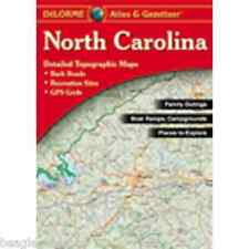 NEW Delorme North Carolina NC Atlas and Gazetteer Topo Road Map Topographic Maps