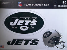 New York Jets NY Multi Die Cut Magnet Sheet Auto Home NFL Football