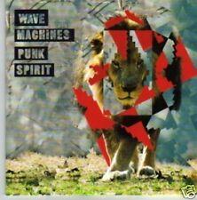 (669P) Wave Machines, Punk Spirit - DJ CD