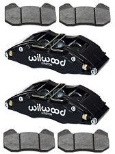 "WILWOOD DYNAPRO 6 BRAKE CALIPERS & PADS,DRAG RACE,HOT ROD,STREET/STRIP,1.1"",4.04"