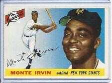 1955 Topps Monte Irvin Ex # 100
