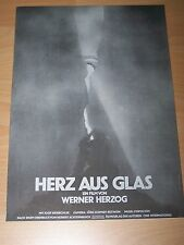 HERZ AUS GLAS - Presseheft ´76 - Werner Herzog JOSEF BIERBICHLER