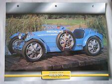 Bugatti T51 Dream Cars Card